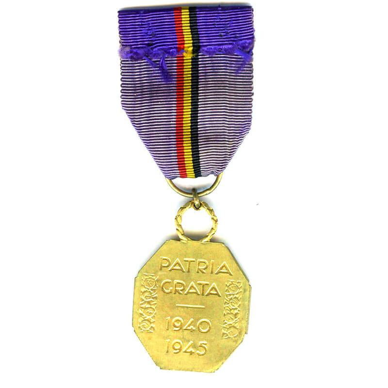 Reconnaissance medal for War Aid 1940-45 1st class gilt 2