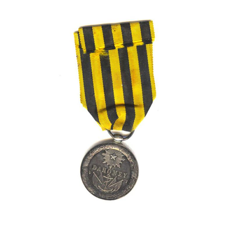 Dahomey medal 1892 very scarce 2