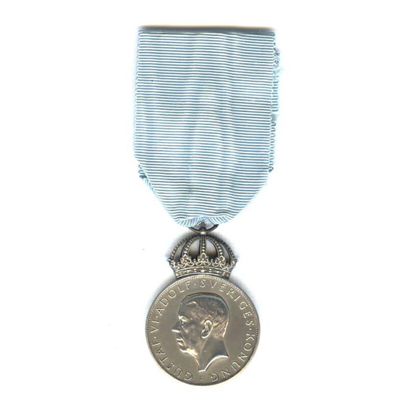 Gustav V medal for the 300th Anniversary of the New Sweden Settlement... 1