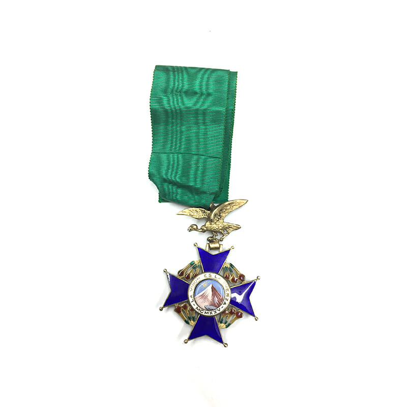 Order of the Condor of the Andes Commander 1
