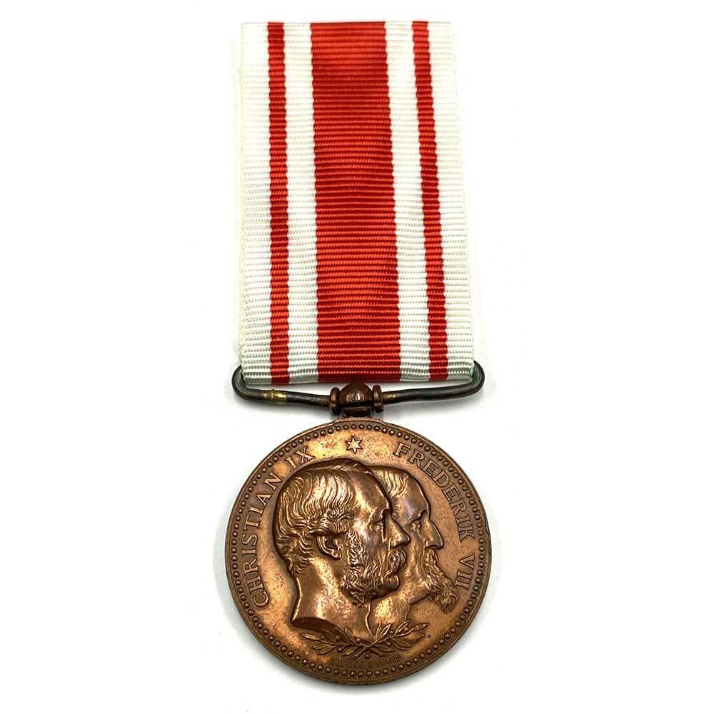 War medal 1848-1850-1864  triple date 1