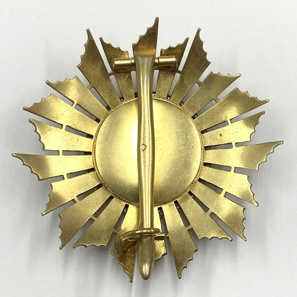 Order of Military Merit Grand Officer Breast star 2