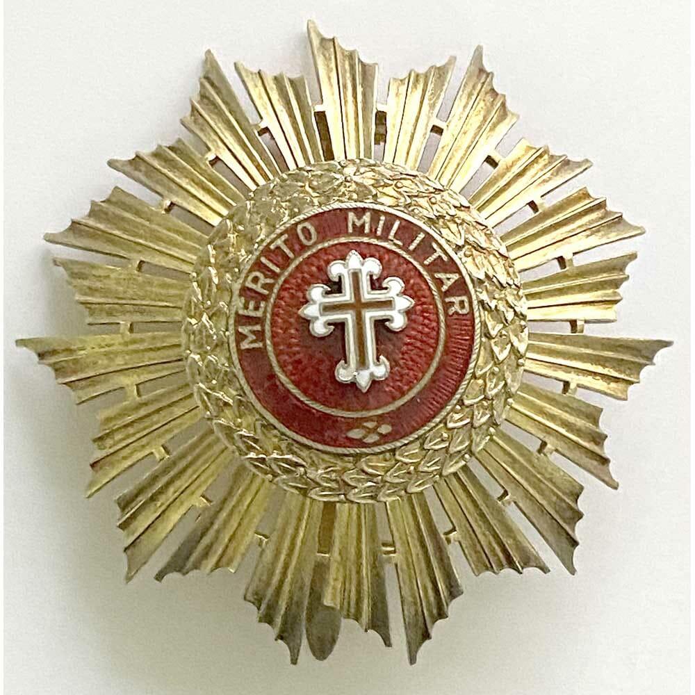 Order of Military Merit Grand Officer Breast star 1