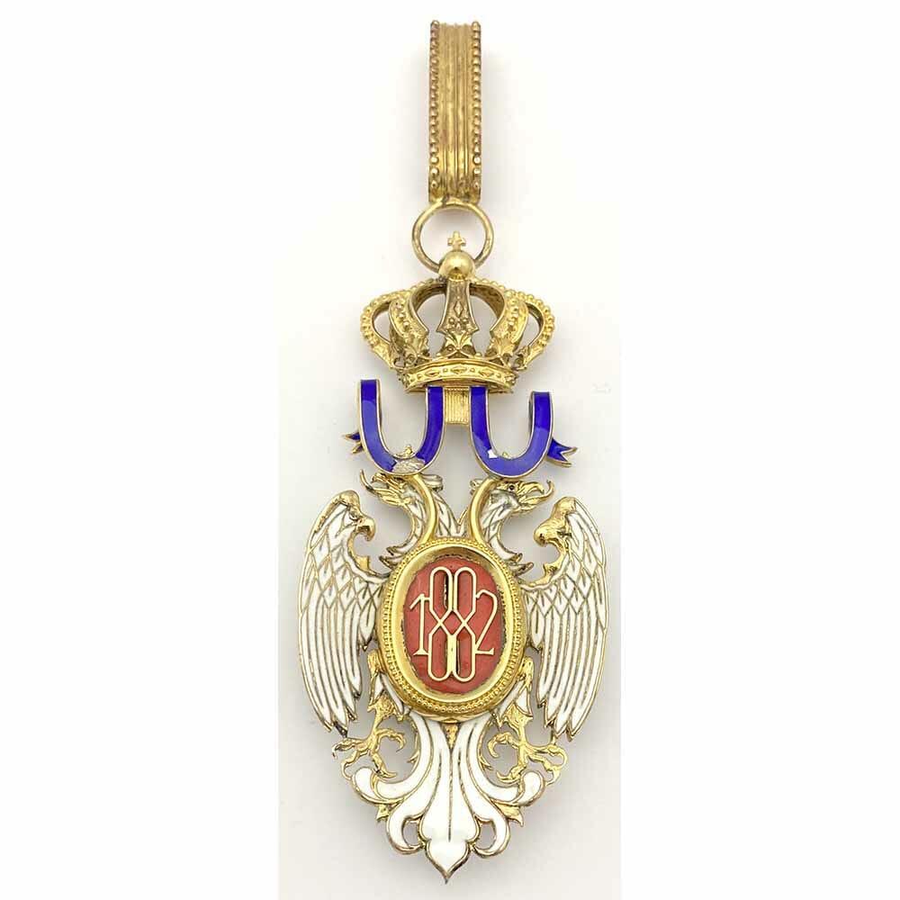 Order of the White Eagle Commander neck badge 2