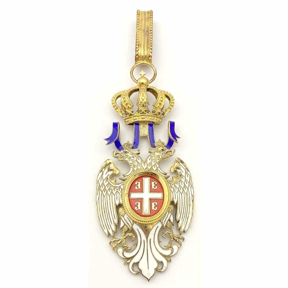 Order of the White Eagle Commander neck badge 1