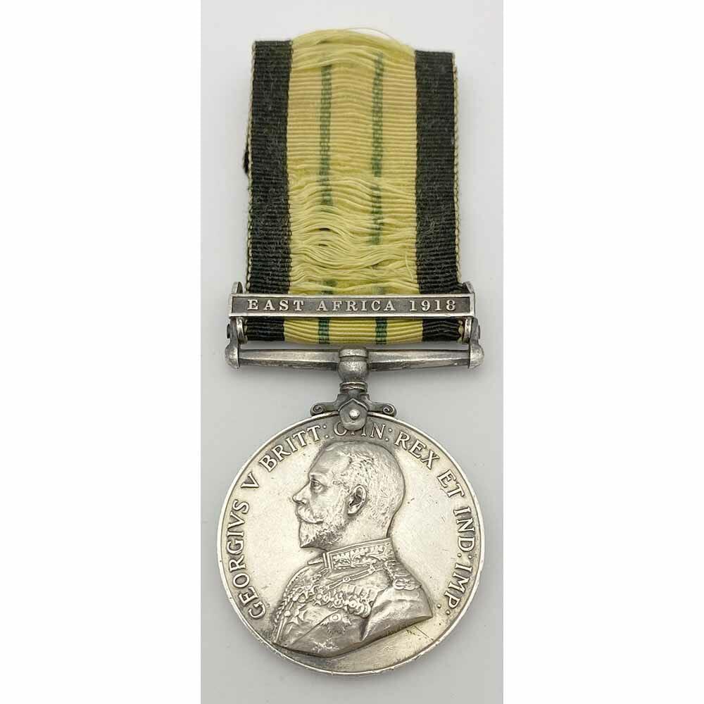 AGS East Africa 1918 5th KAR Rare 1