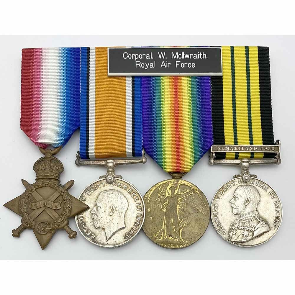 1915 Trio Somaliland 1920 RAF 1