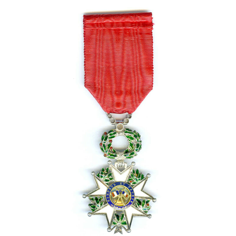 Legion D'Honneur 1870-1951 Knight superb deluxe issue 2