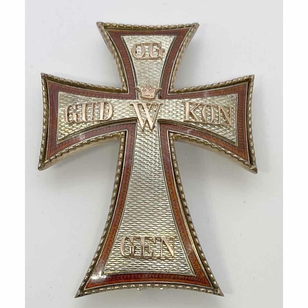 Order of Dannebrog Commander Star 1