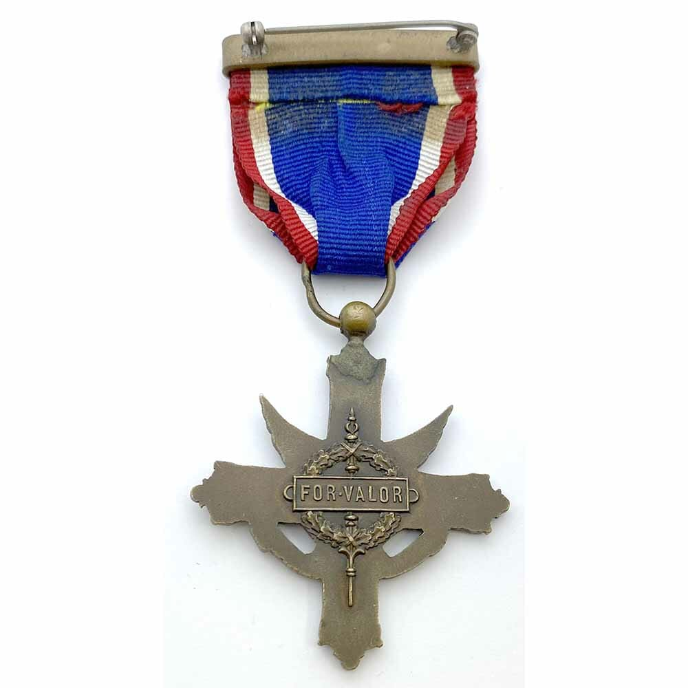Distinguished Service Cross Army 2nd type W.W.I French issue  rare(L21785)  G.V.F... 2