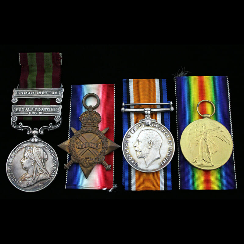 India General Service Medal 1895 1