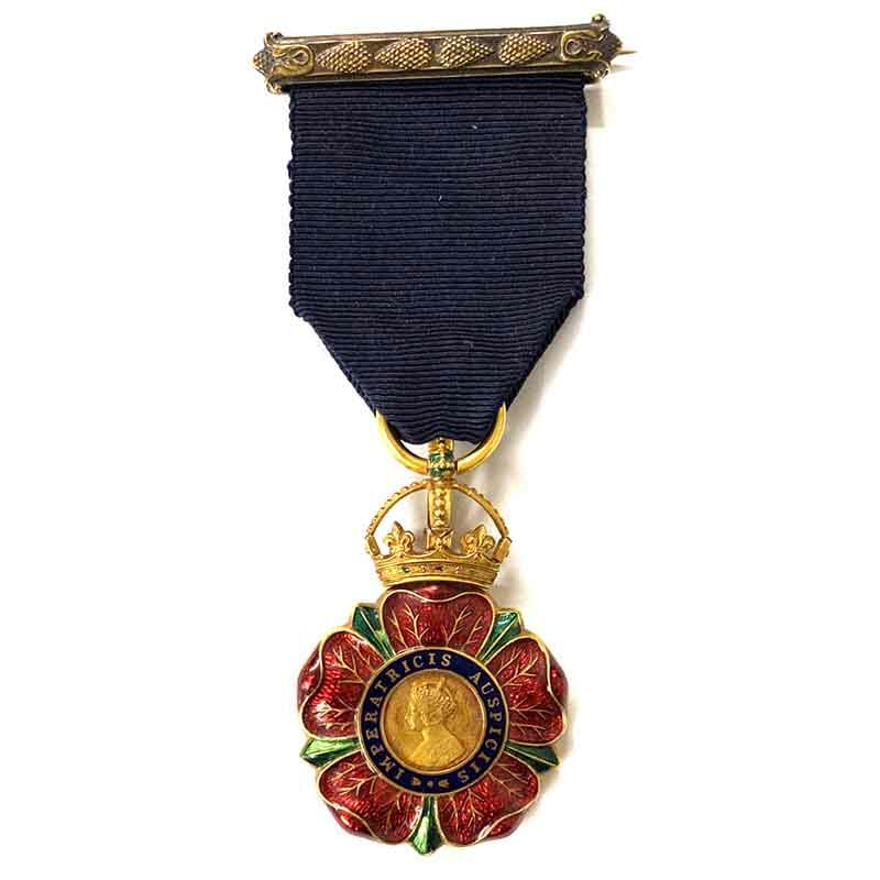 Companion of Order of the Indian Empire  C.I.E. 1