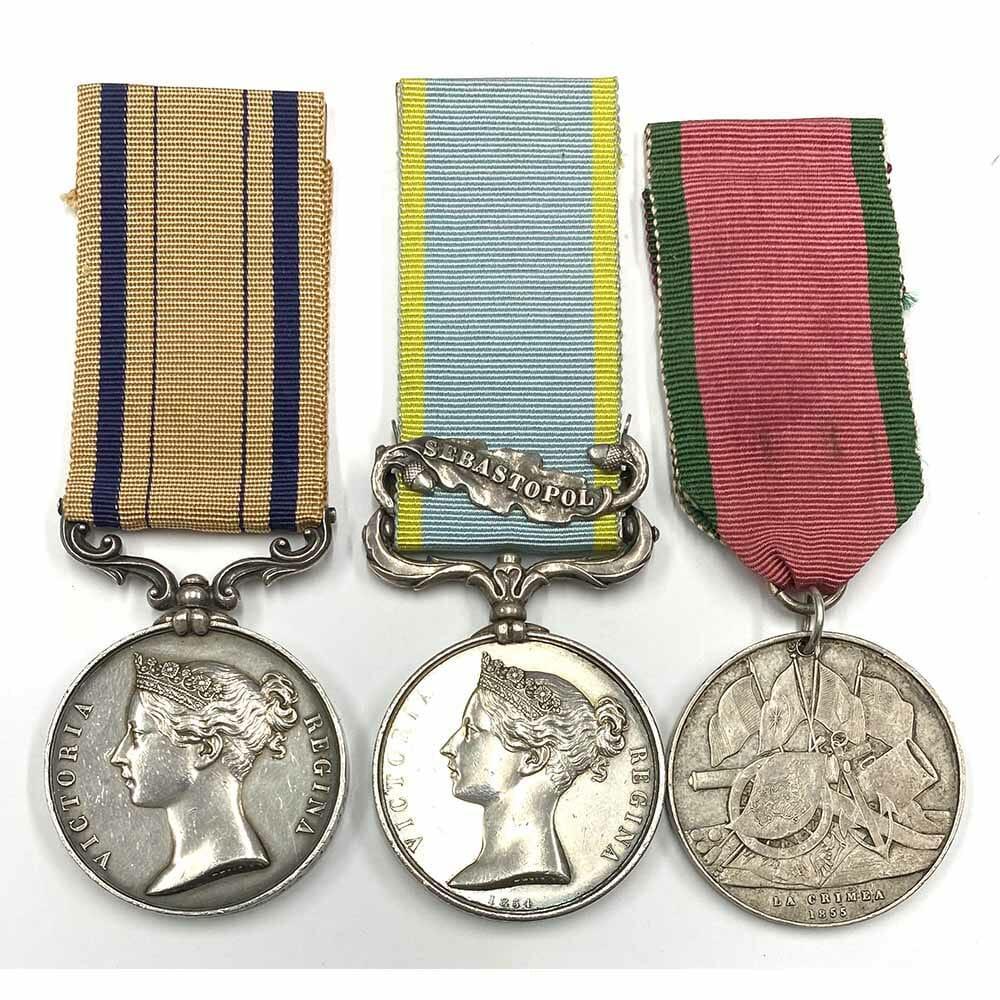 South Africa Crimea 12th Royal Lancers 1