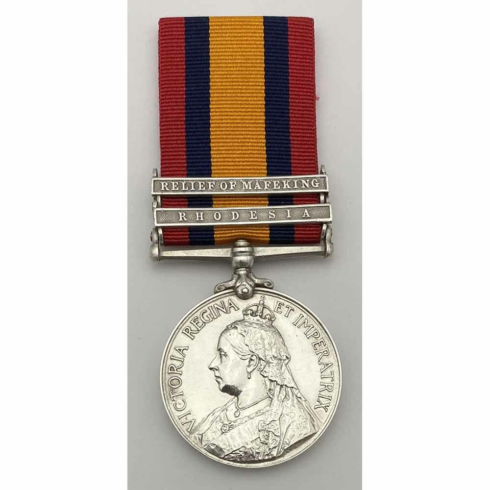 QSA Relief of Mafeking S Rhodesia Volunteers 1