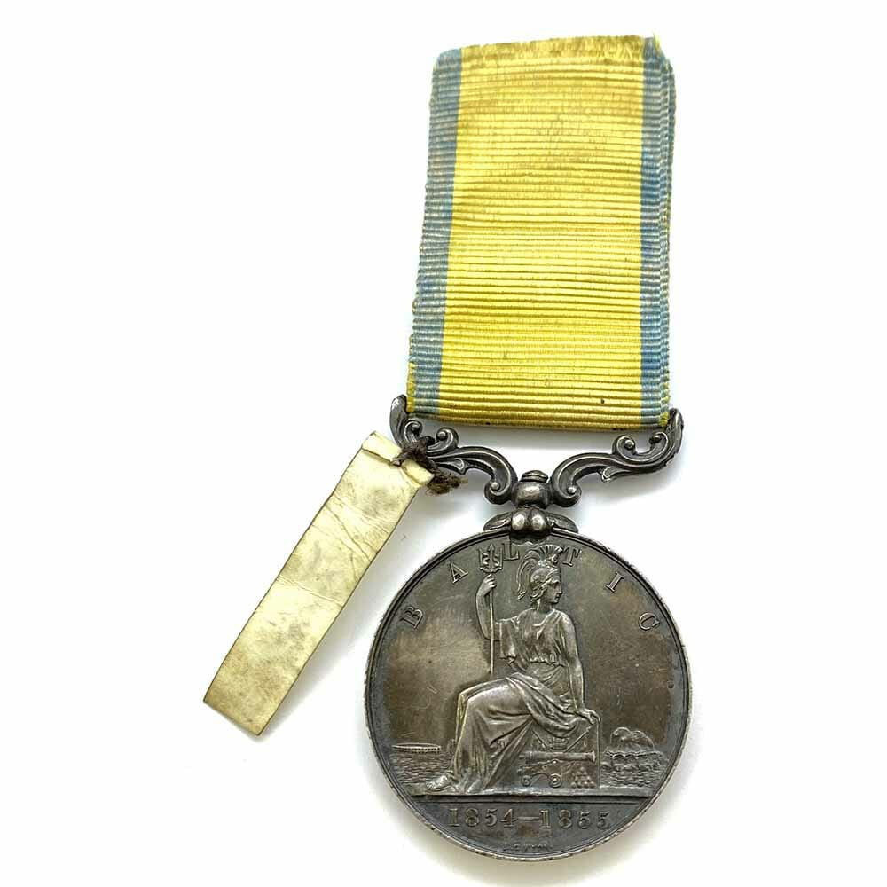 Baltic Medal 1854-55 attributed 2