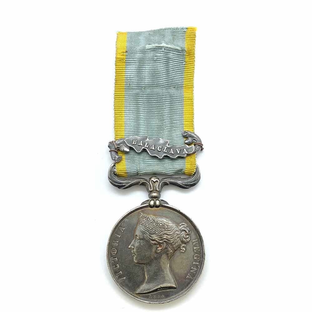 Crimea Medal Silk Ribbon Balaclava 1