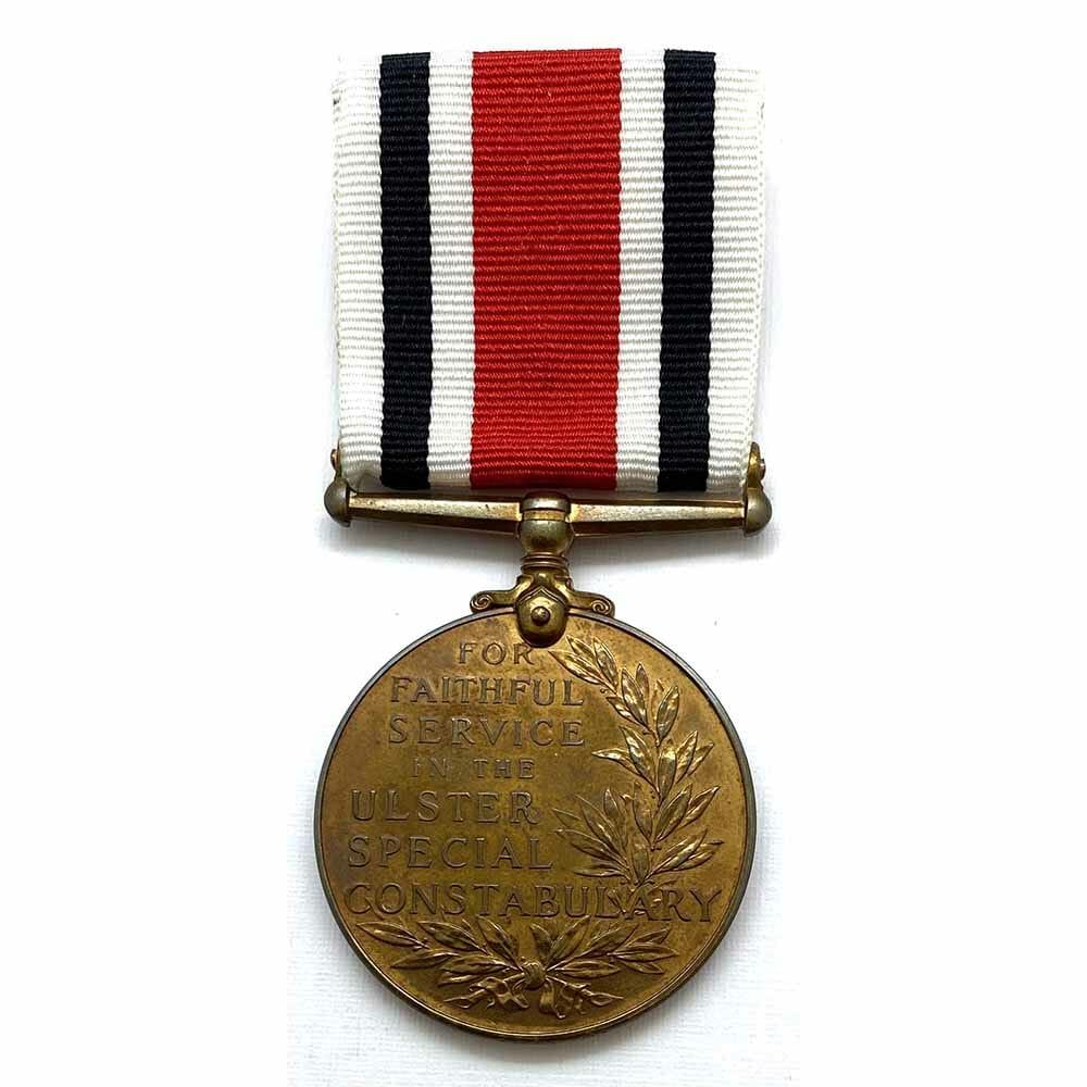 Ulster Special Constabulary Medal 1