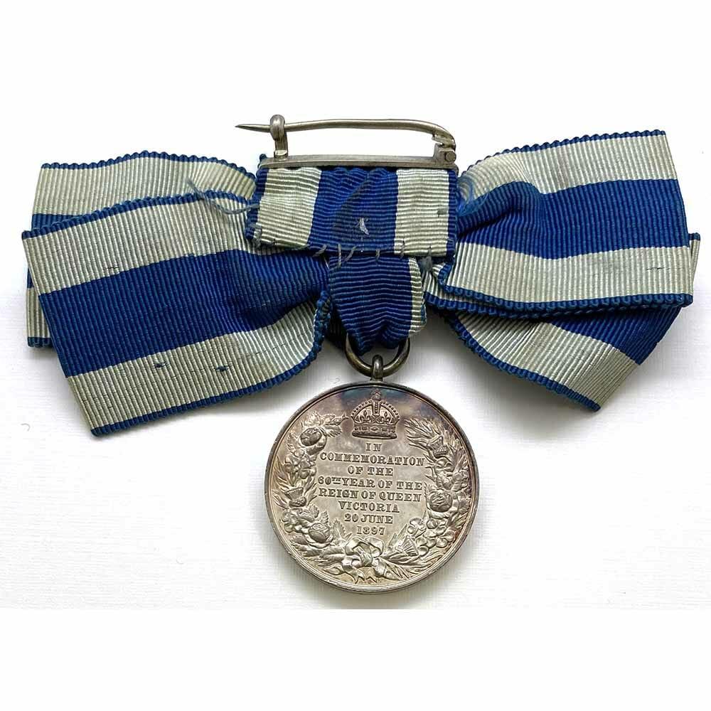 1897 Victoria Jubilee Medal, Silver Ladies 2