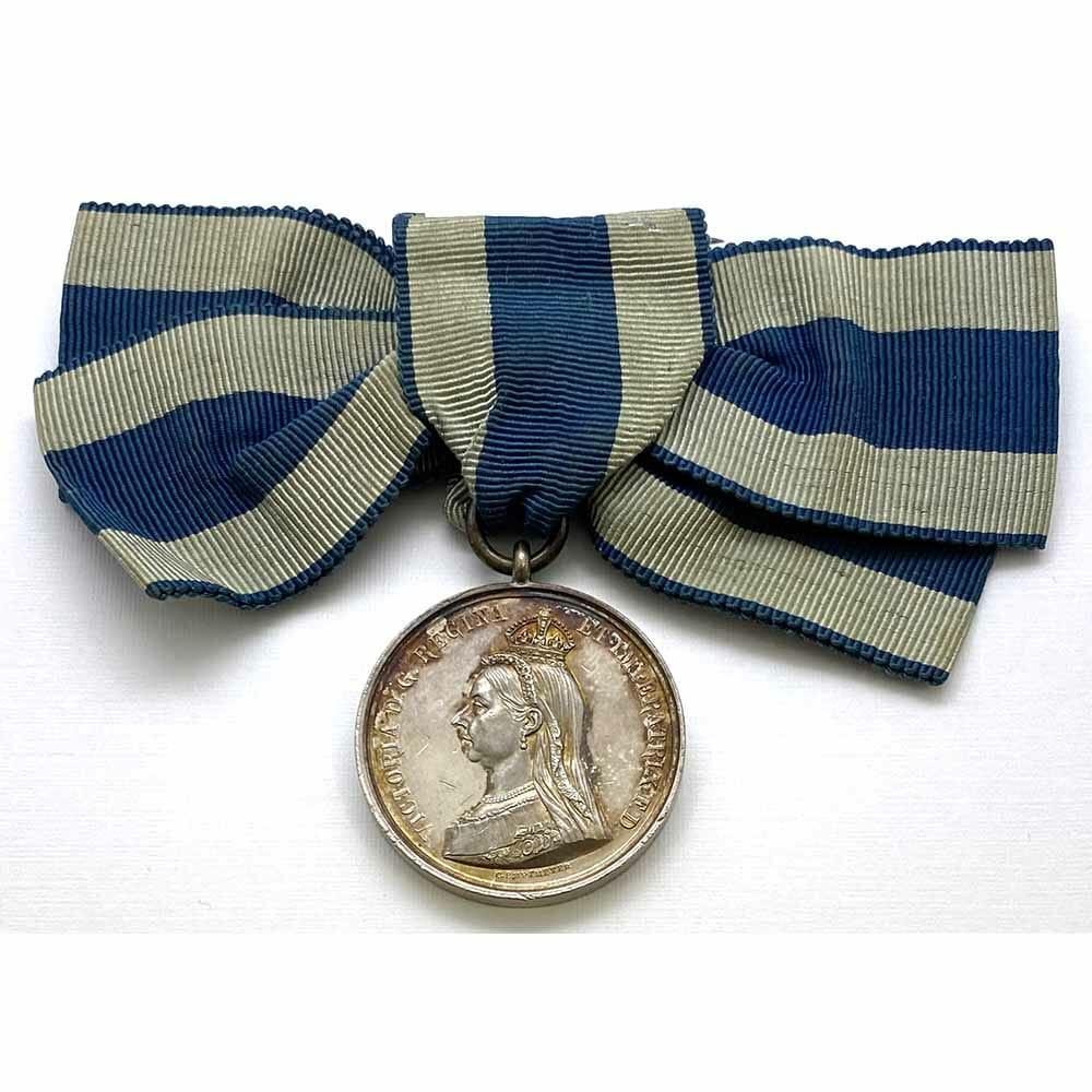 1897 Victoria Jubilee Medal, Silver Ladies 1