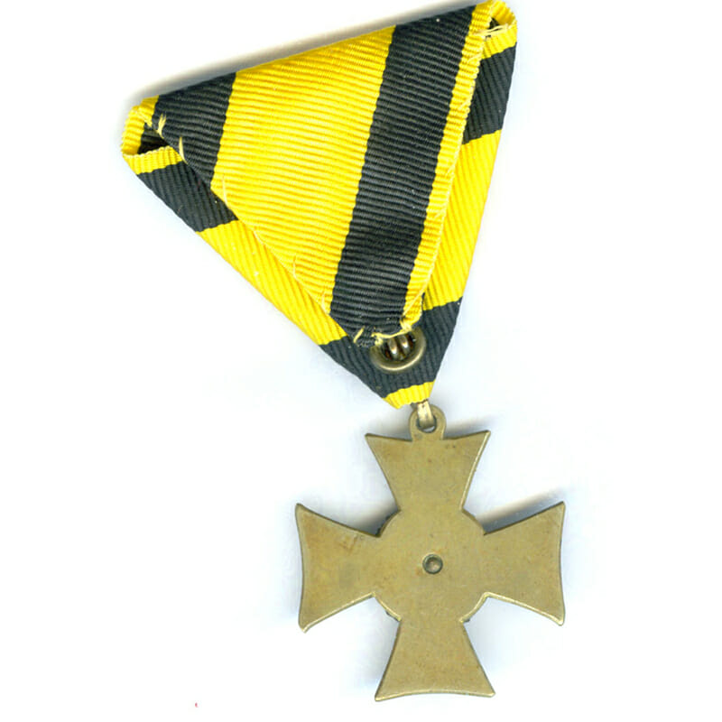 Military L.S.Cross Officer 2nd type 1867-1890 for 25 years 2
