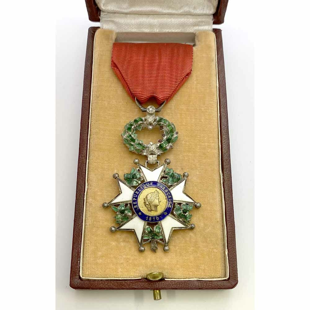 Legion D'Honneur 1870-1951 Knight superb deluxe issue 1