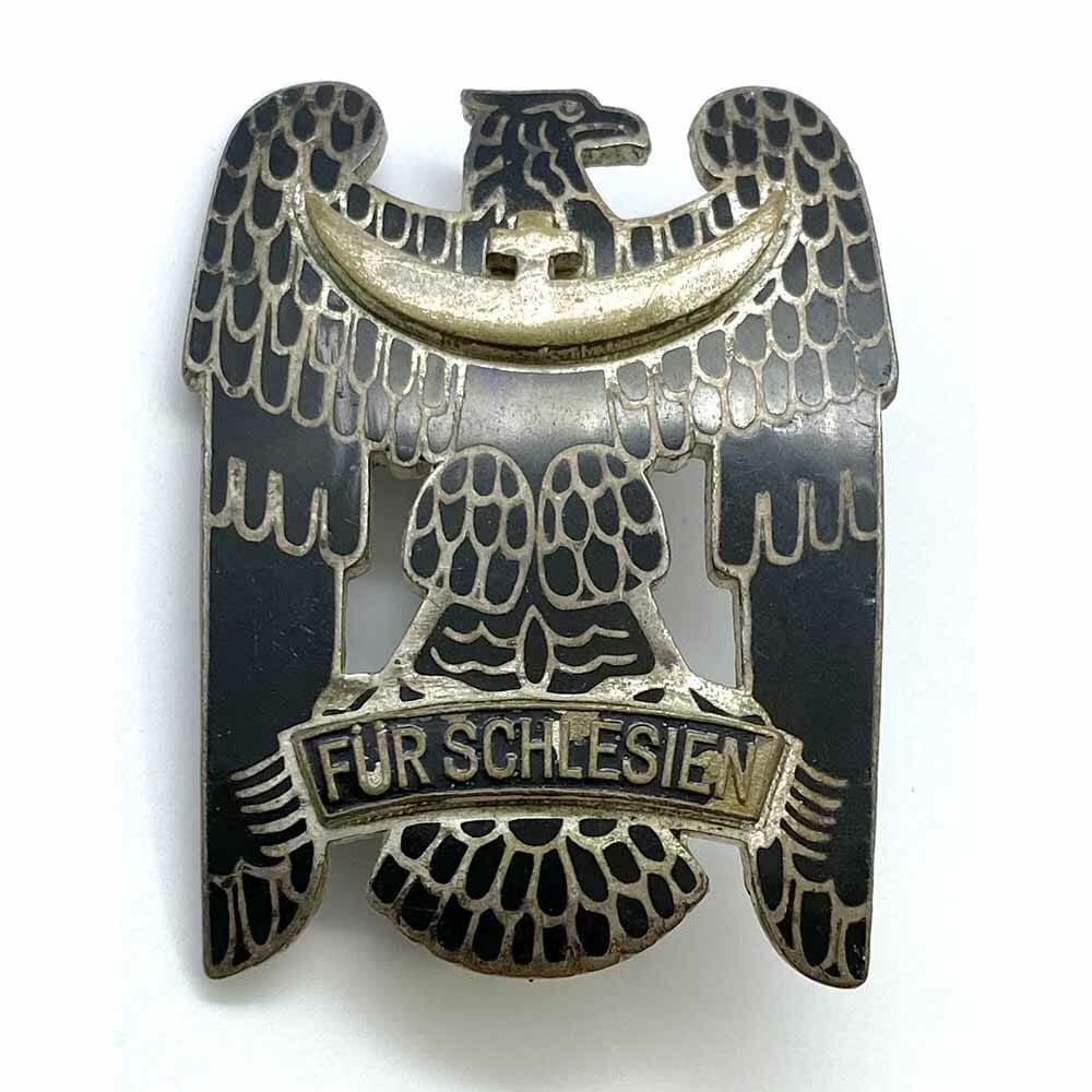 Silesian Eagle 1st Class silver with Black enamel 1