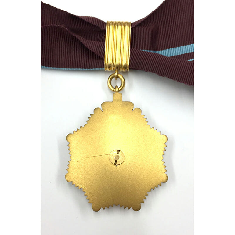 Order of British India , O.B.I., First Class Neck Badge all gold 2