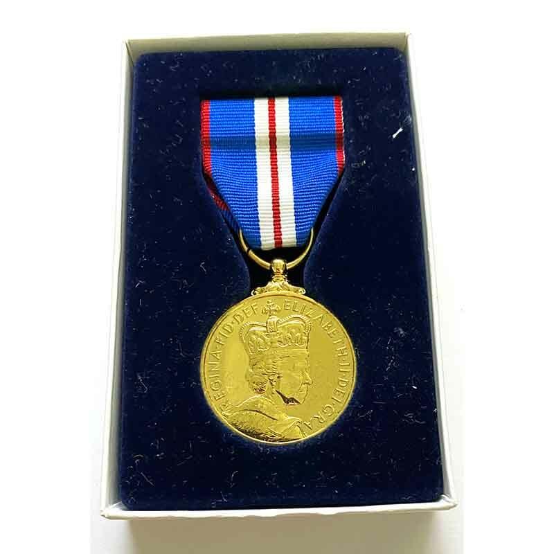 2002 Golden Jubilee medal EIIR 1