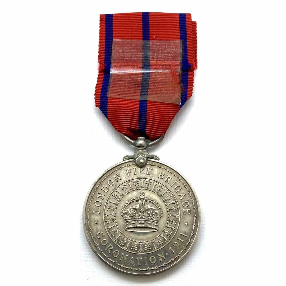 1911 Coronation London Fire Brigade 2