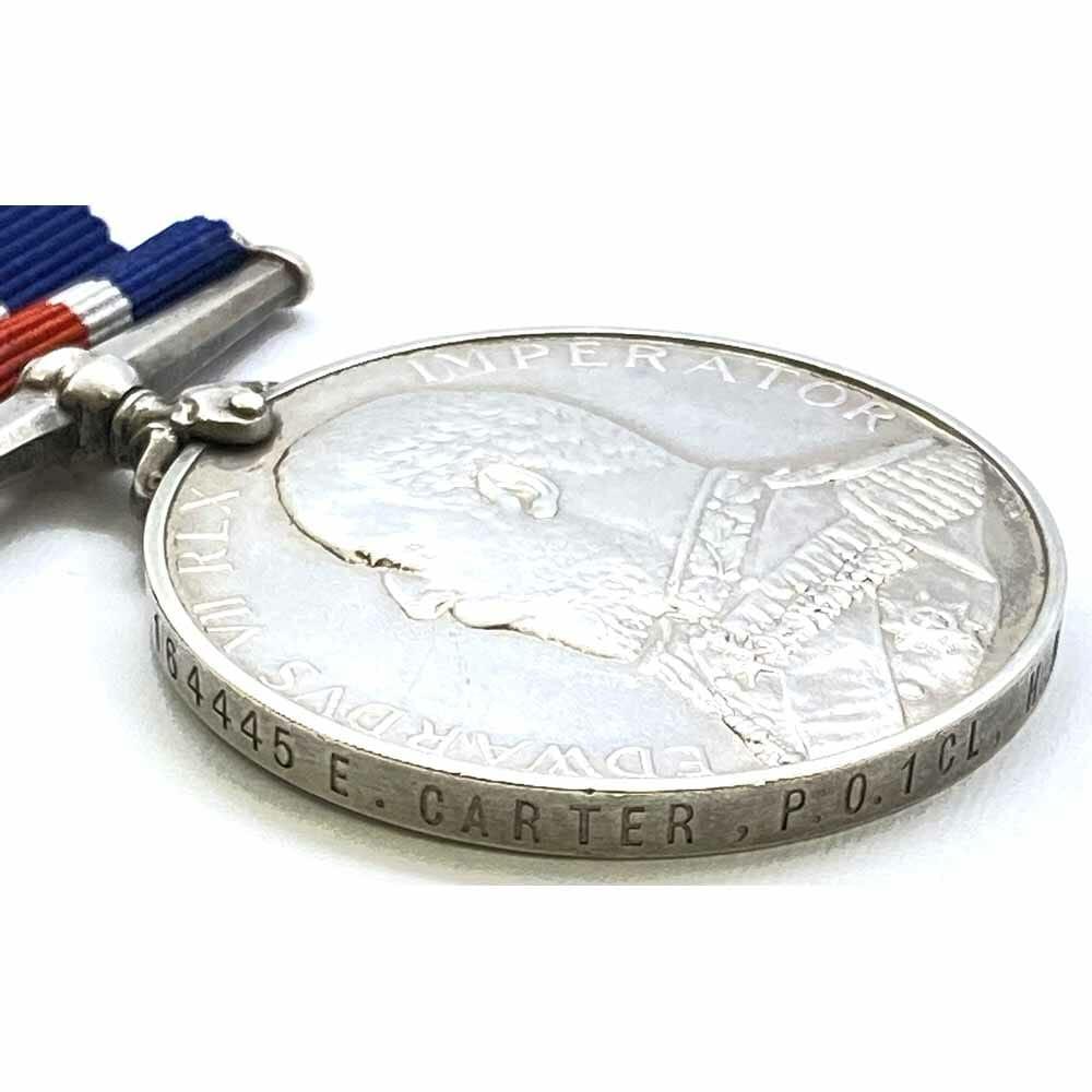 Naval Good Shooting Medal EDVII 3