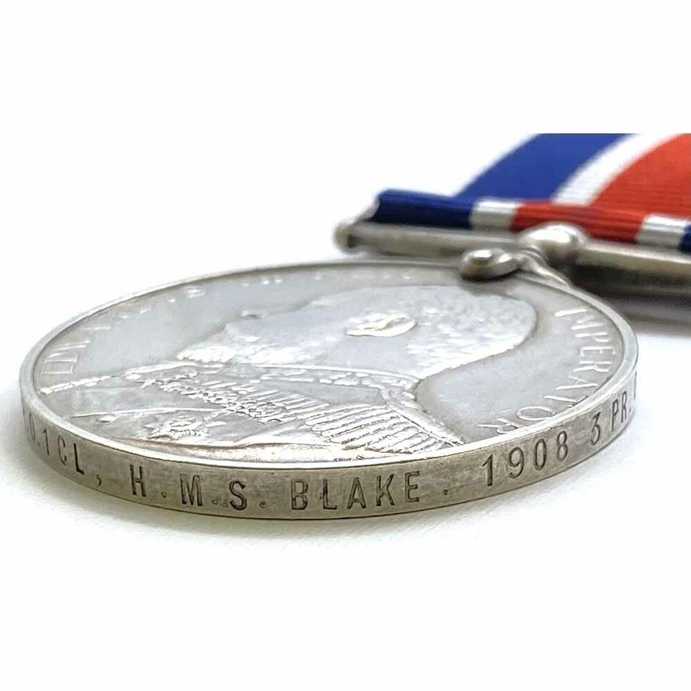 Naval Good Shooting Medal EDVII 4