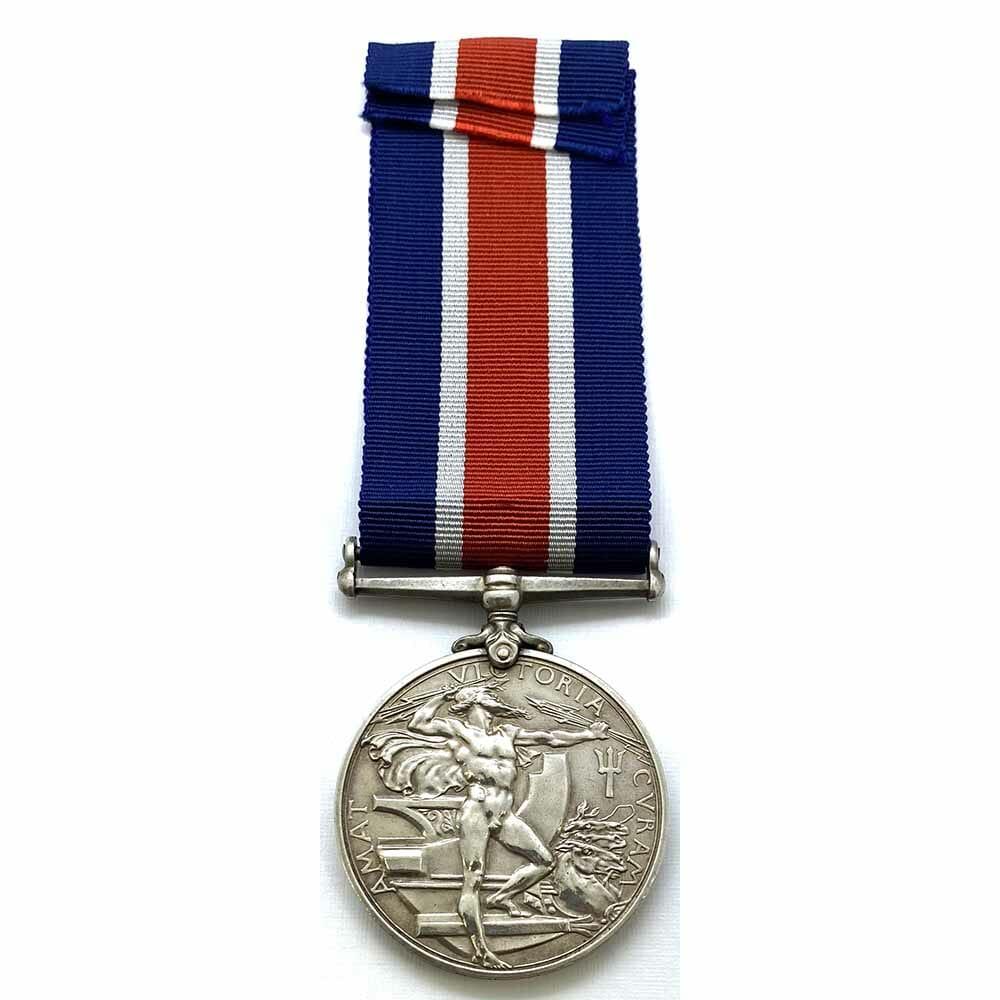 Naval Good Shooting Medal EDVII 2