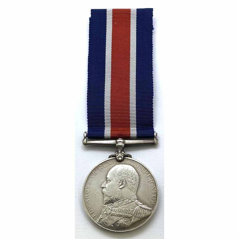 Naval Good Shooting Medal EDVII 1