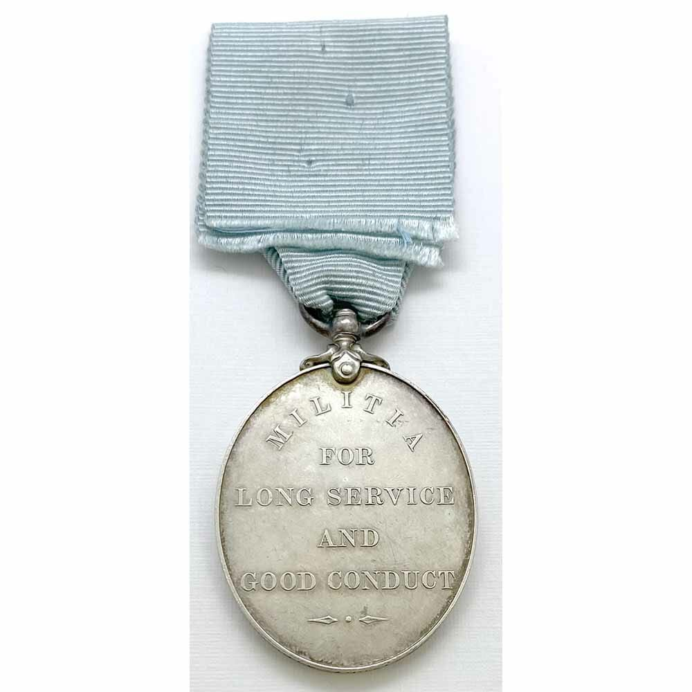 Militia LS Medal 4th R Irish Rifles 2