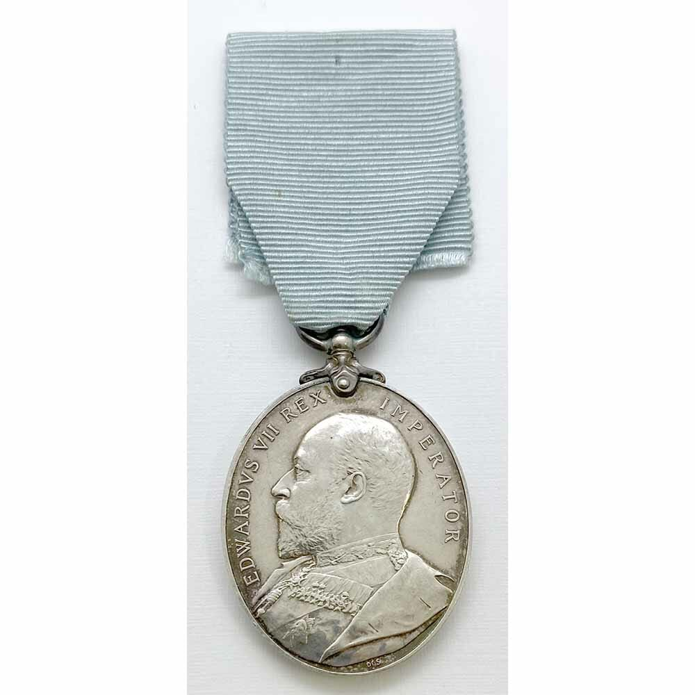 Militia LS Medal 4th R Irish Rifles 1