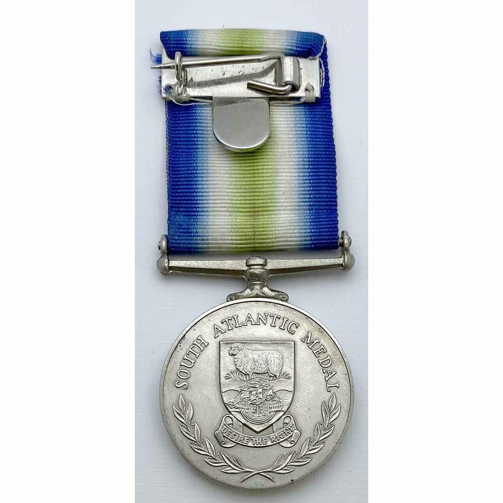 South Atlantic Medal HMS Fearless 2