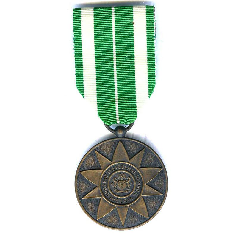 Order of the Federal Republic Merit medal civil ribbon bronze(L2868)  E.F... 1