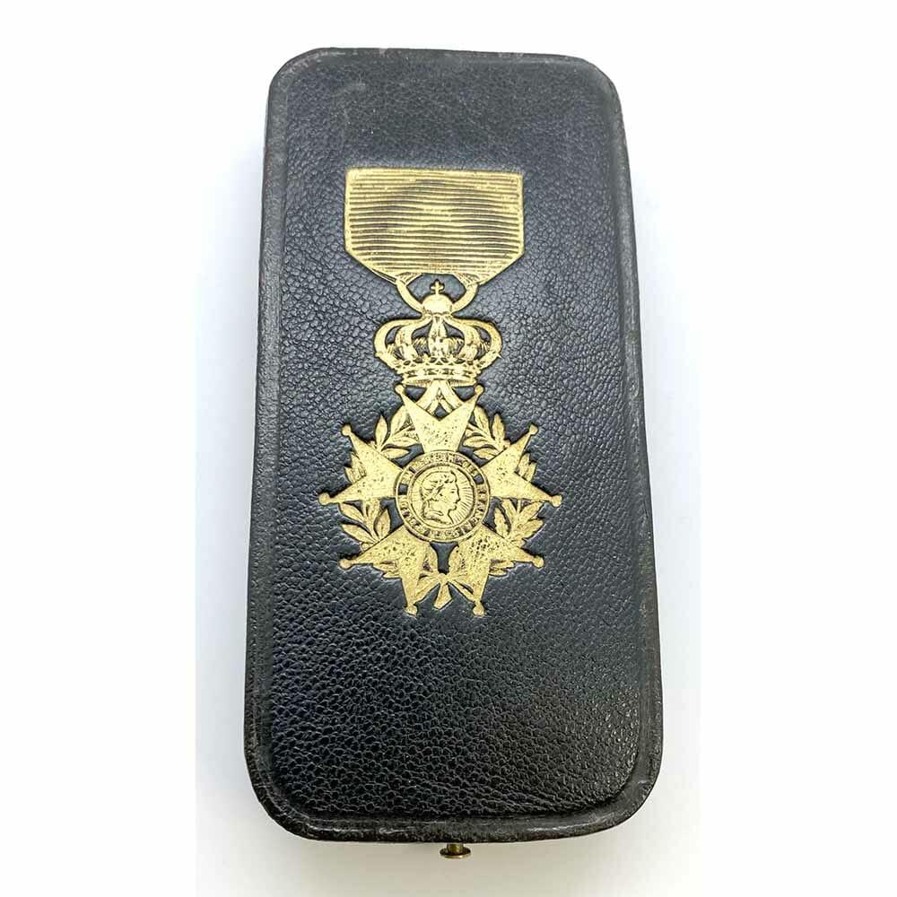 Legion D'Honneur Case for  badge 2nd Empire Lemoine 1