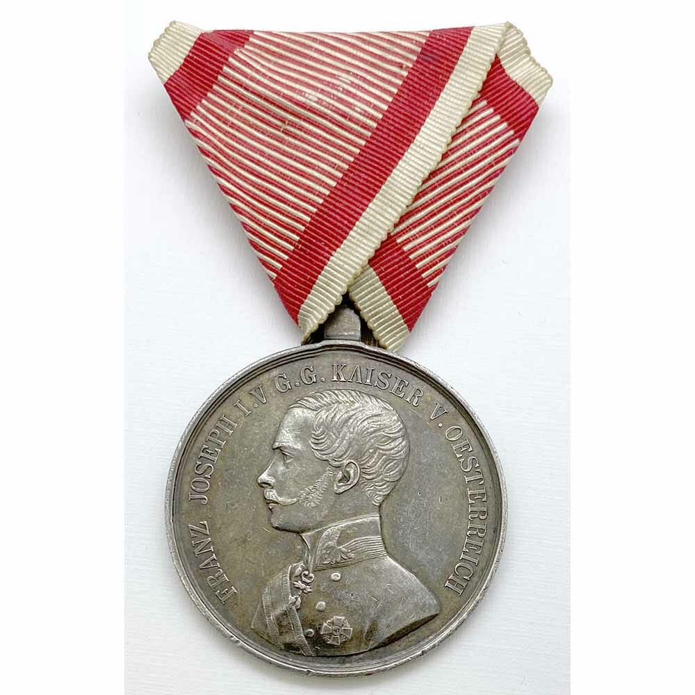 Medal for Bravery Franz Joseph I 1859-1866 1