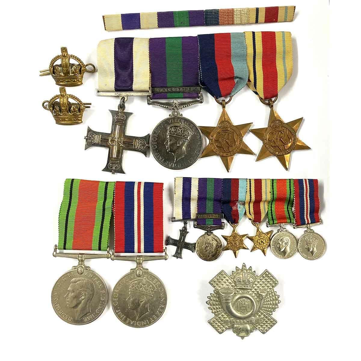 Military Cross 1939 Palestine Captain HLI 1