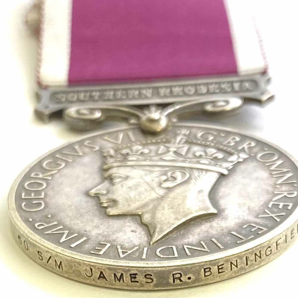 Army Long Service Southern Rhodesia 3