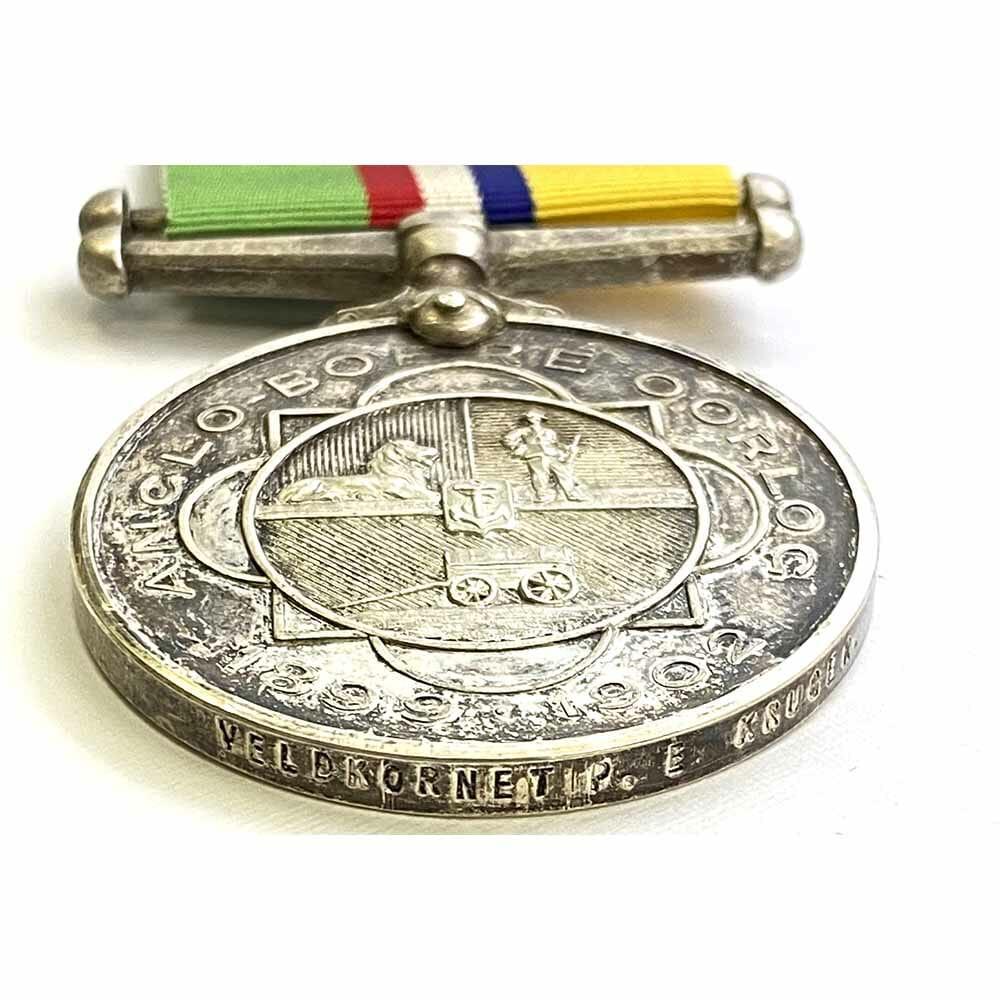 Boer Medal Veldkornet Officer Wound POW 3