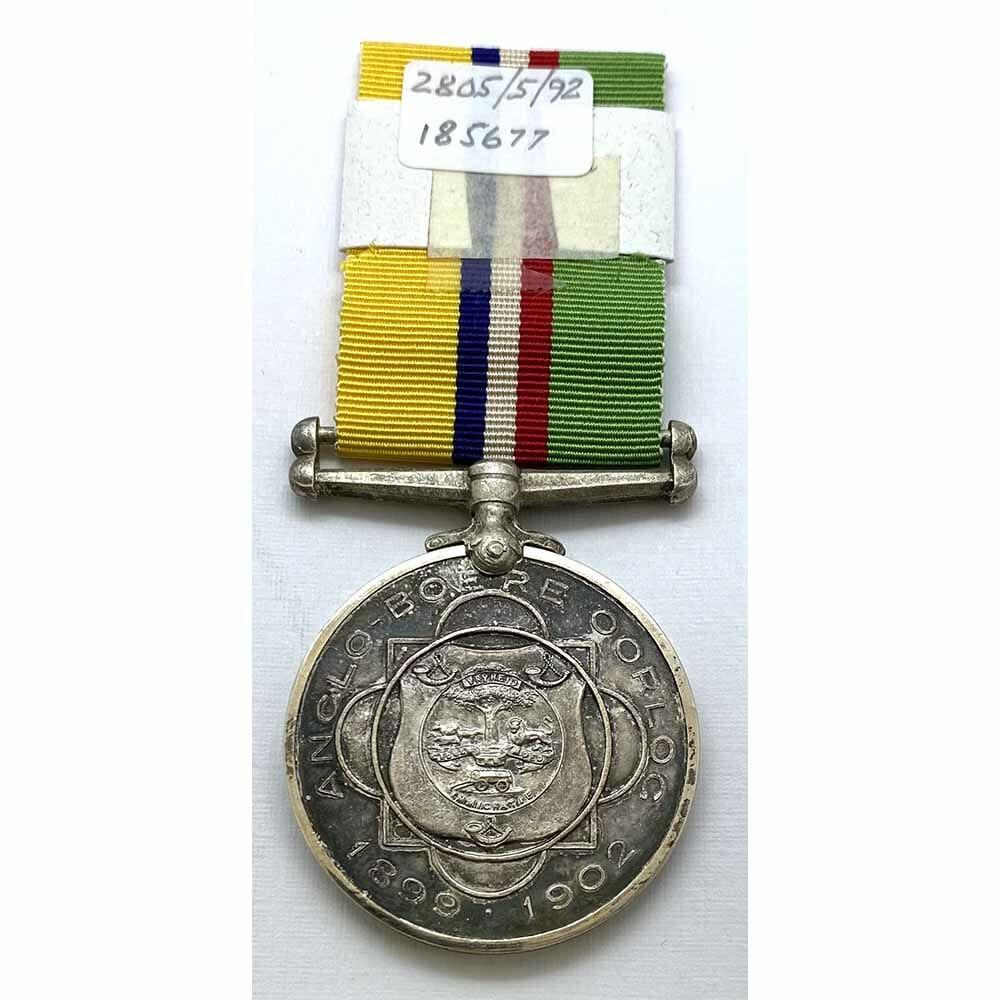 Boer Medal Veldkornet Officer Wound POW 2