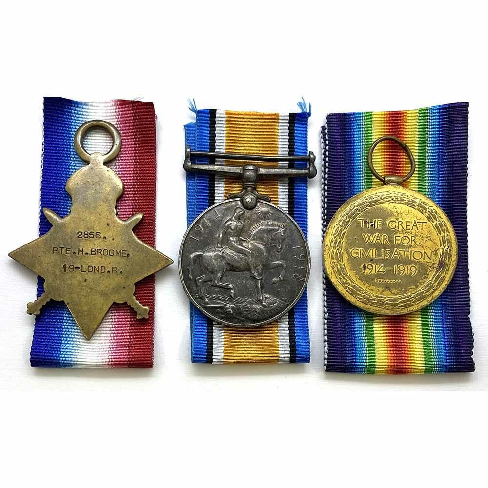 1914-15 Trio 19th London MM Winner 2