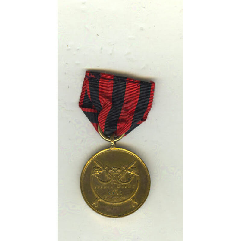 War  Medal  1793-1815 as awarded for Waterloo for 3 Campaigns 2