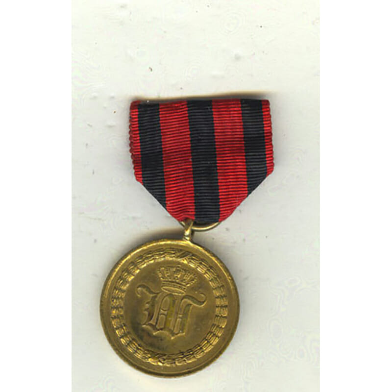 War  Medal  1793-1815 as awarded for Waterloo for 3 Campaigns 1