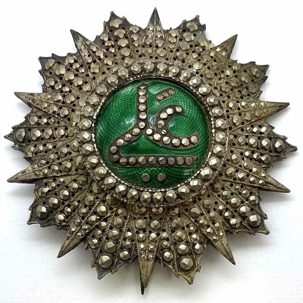 Order of Nichan Iftikhar  Grand Cross breast star Ali Bey 1882-1902 1