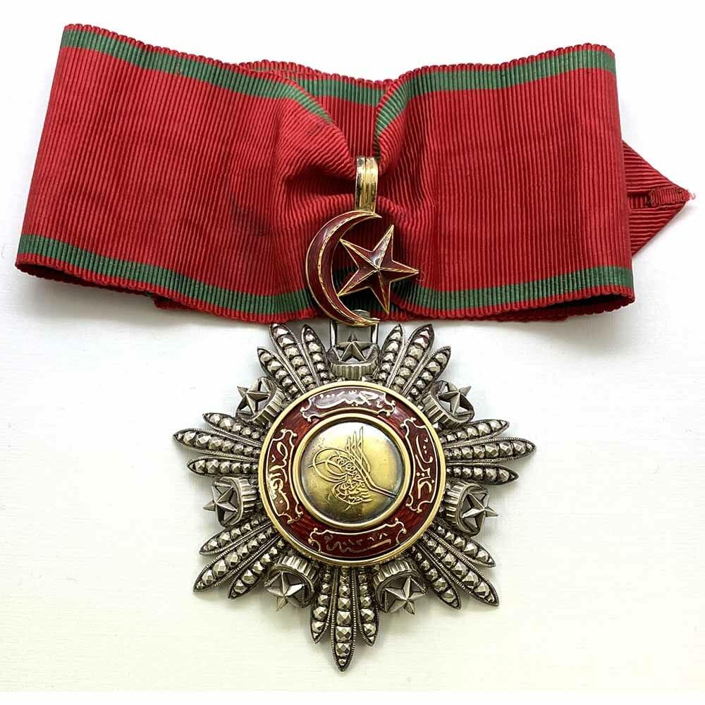 Order of the Medjidie Commander  neck badge Crimea Period 1