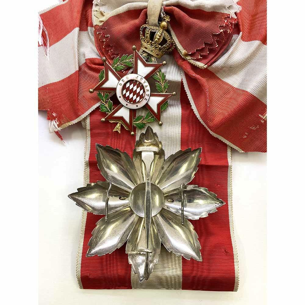 Order of St Charles Grand Cross  Set with full sash. 2