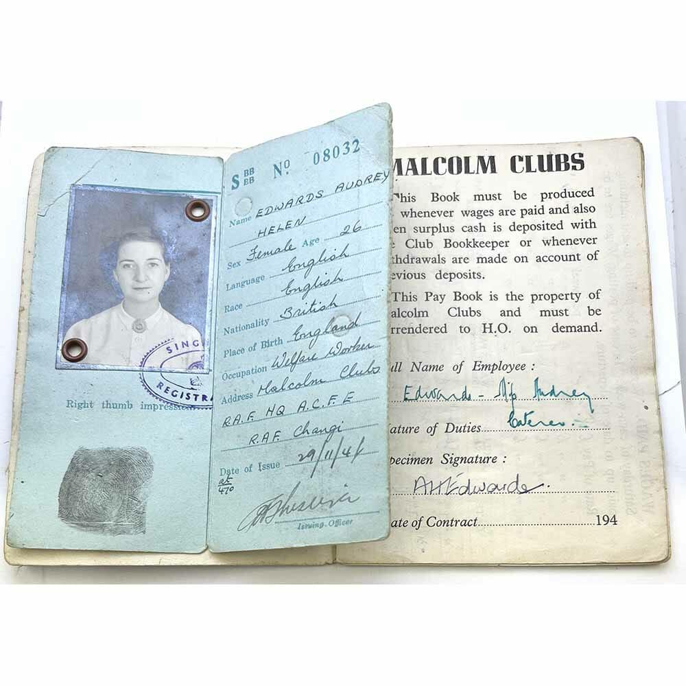 GSM Malaya Woman Civilian RAF Japan 3